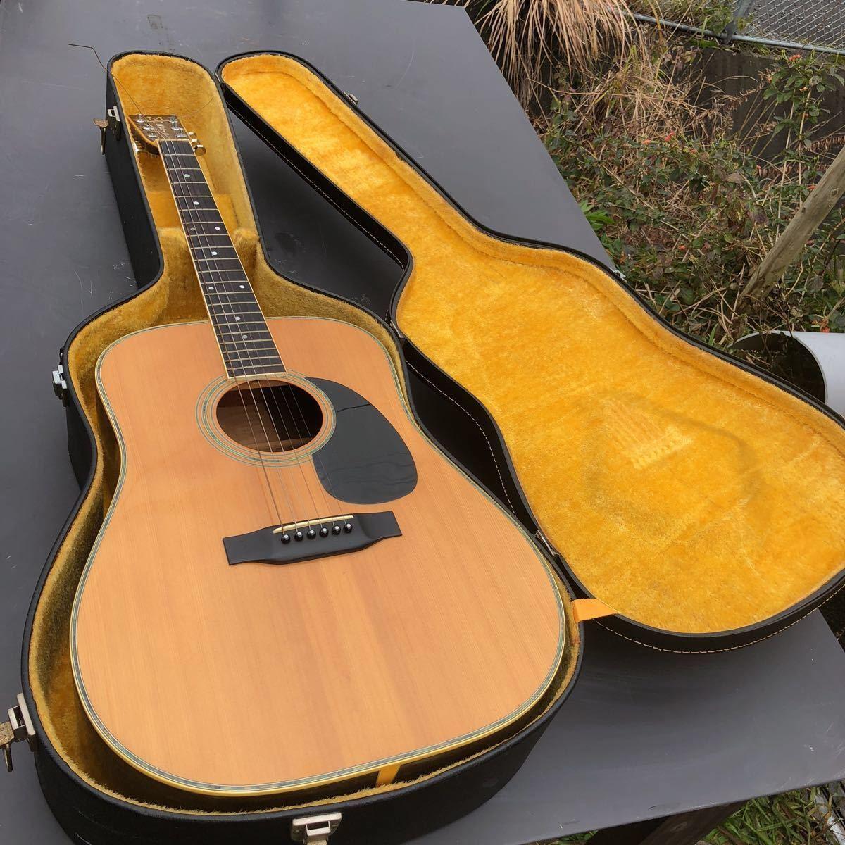 MORRIS スペシャル w50 ギター ハードケース付き