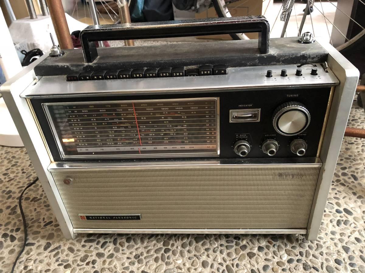 ナショナル パナソニック ラジオ RF-5000B ジャンク