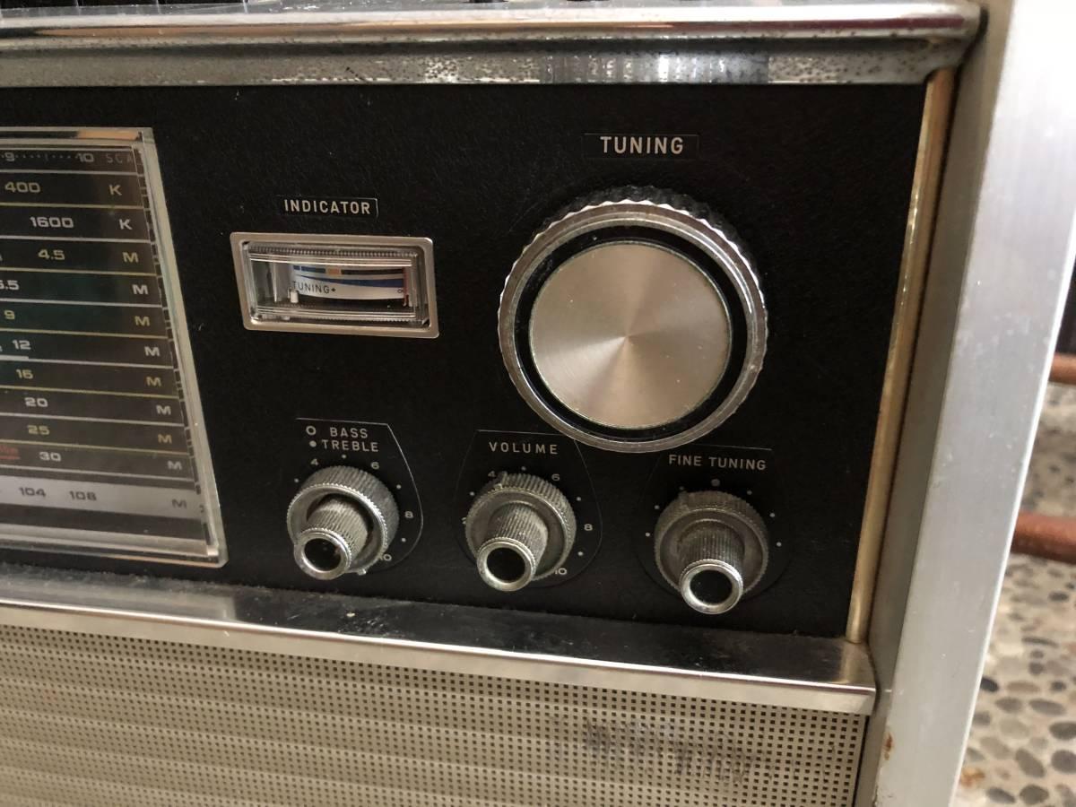 ナショナル パナソニック ラジオ RF-5000B ジャンク_画像3