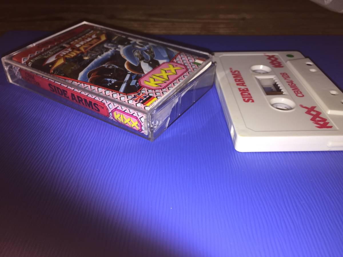コモドール 64/128 サイドアームズ カプコン 絶対合体 カセットテープ ゲームソフト レトロゲーム シューティング 送料185円~_画像4