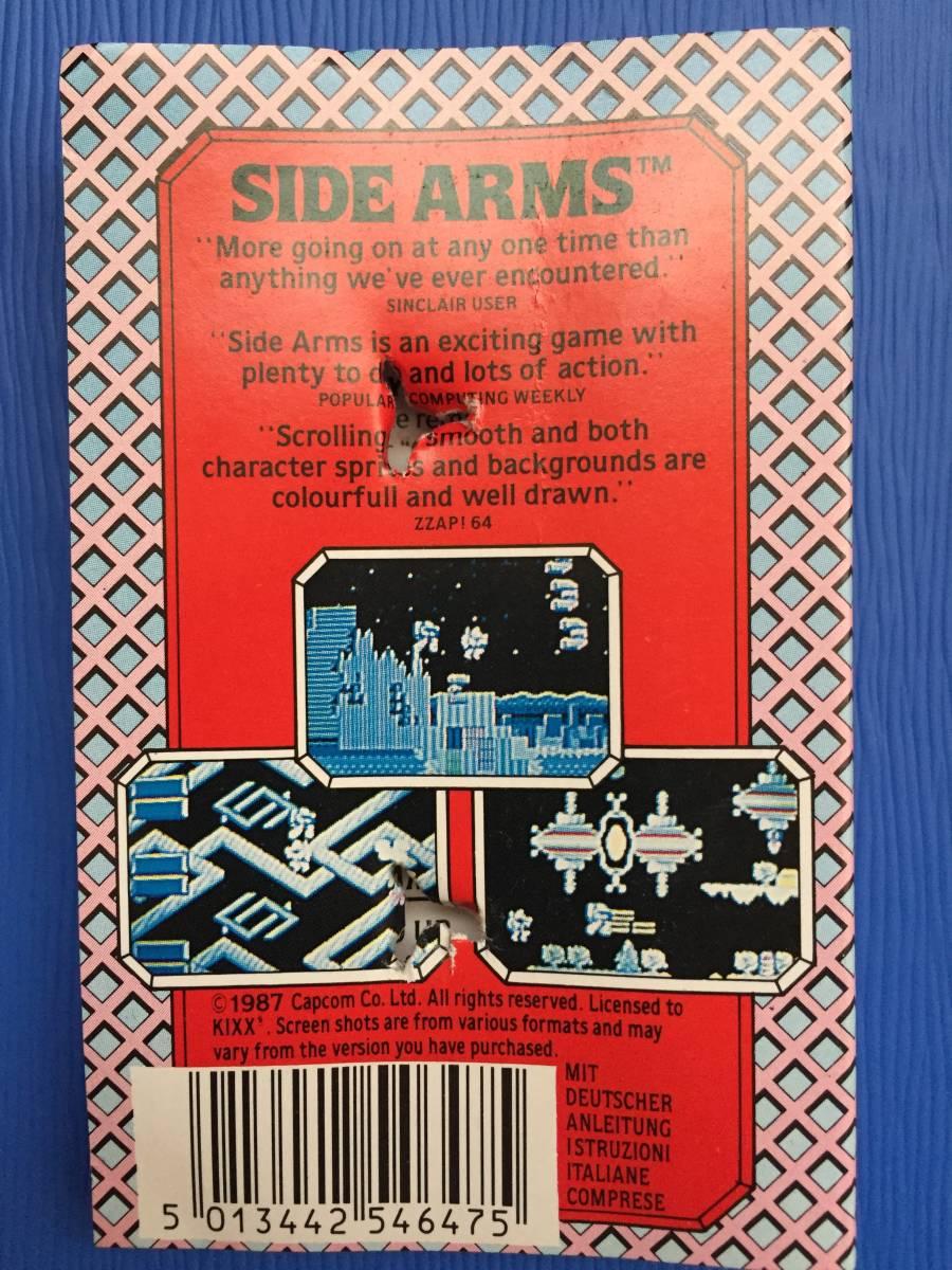 コモドール 64/128 サイドアームズ カプコン 絶対合体 カセットテープ ゲームソフト レトロゲーム シューティング 送料185円~_画像5