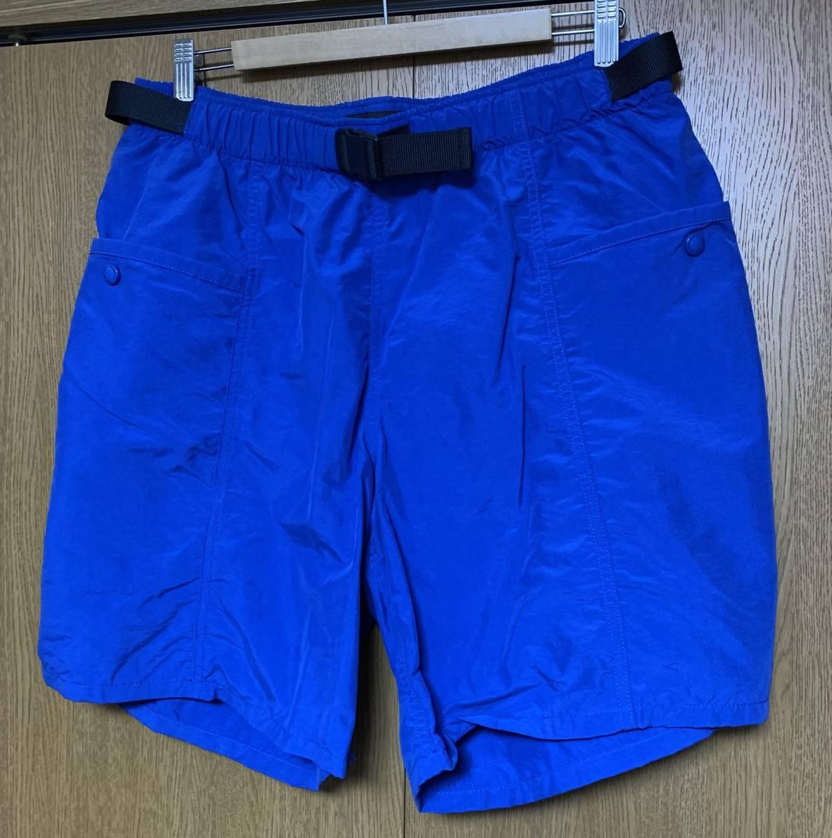WTAPS ダブルタップス BOARD SHORTS NYLON TUSSAH 14 ショーツ 即決 BLUE ブルー L 3 ハーフパンツ ナイロン パンツ 中古 ボード 青 正規品_画像1
