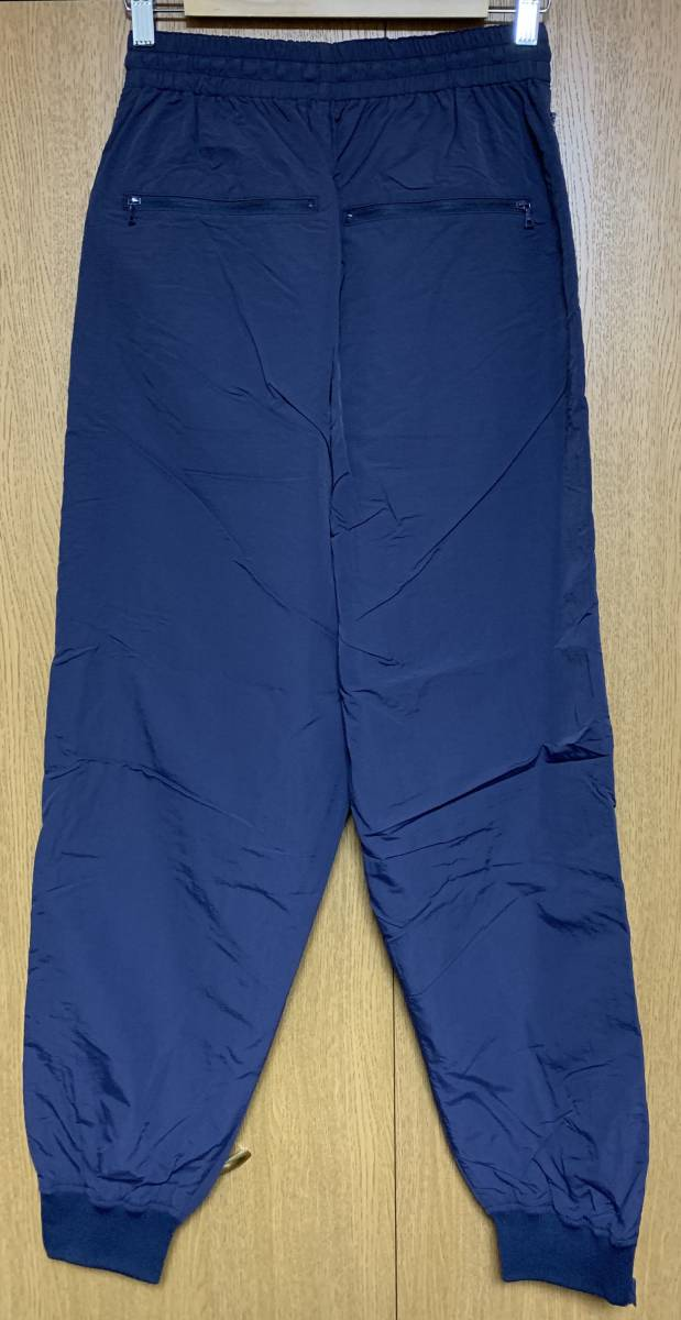 DESCENDANT ディセンダント DOULIE NYLON JACKET TRAINER PANTS セットアップ 2 即決 M 新品 ナイロン NAVY 紺 WHITE 白 正規品 18 S/S SS_画像7
