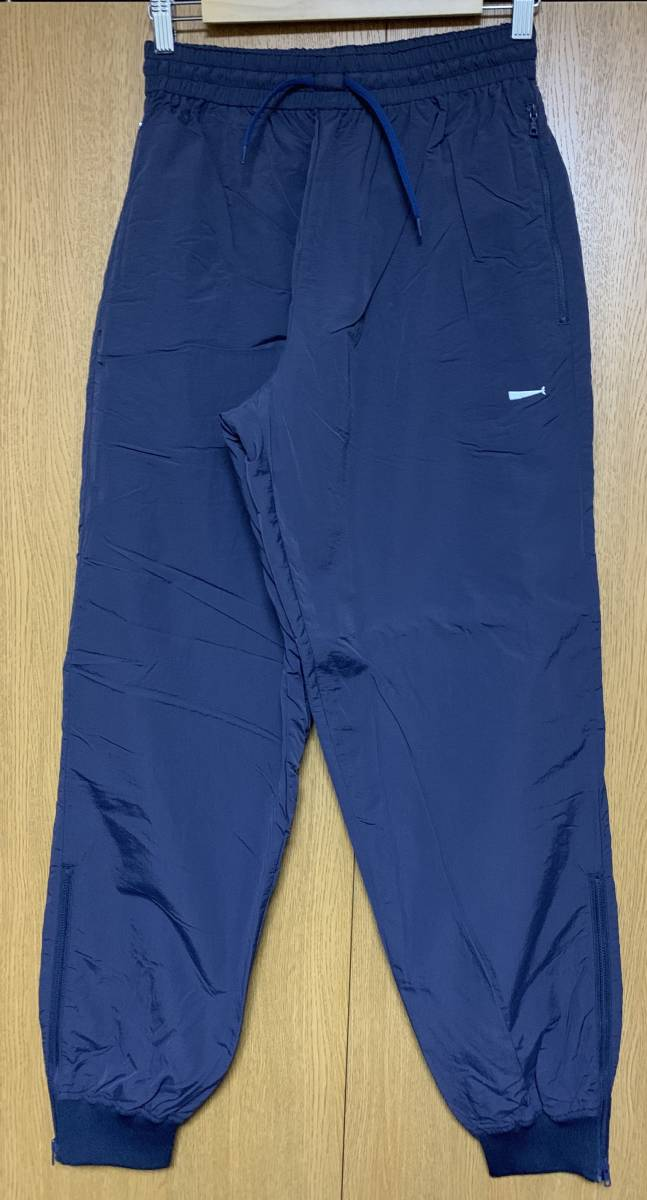 DESCENDANT ディセンダント DOULIE NYLON JACKET TRAINER PANTS セットアップ 2 即決 M 新品 ナイロン NAVY 紺 WHITE 白 正規品 18 S/S SS_画像6
