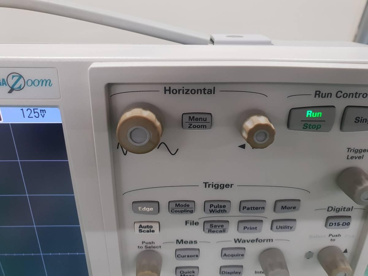Agilent DSO7054A InfiniiVision Oscilloscope 500MHz 4GS/s 4Ch + 10073C x 4_画像4
