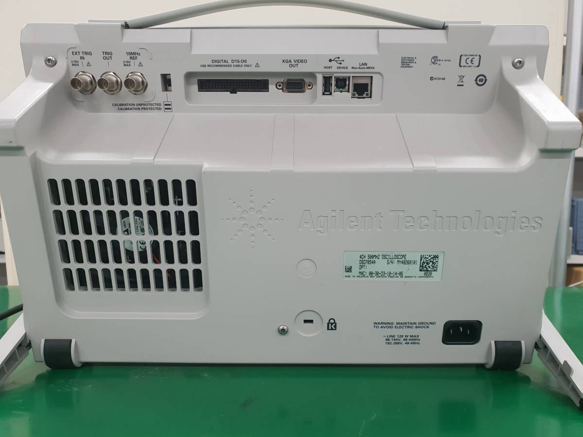 Agilent DSO7054A InfiniiVision Oscilloscope 500MHz 4GS/s 4Ch + 10073C x 4_画像6