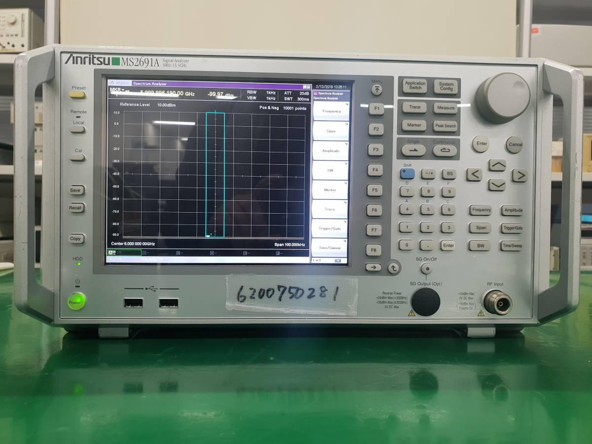 Anritsu MS2691A Signal Analyzer 50Hz - 13.5GHz _画像1