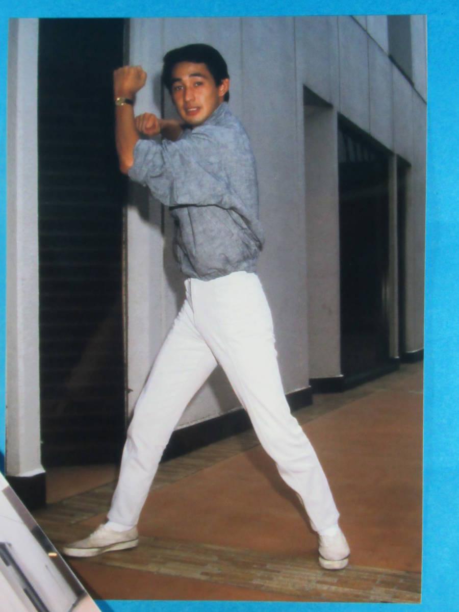 稀少特撮資料★円谷浩「宇宙刑事シャイダー」特写スチール写真セット_画像2