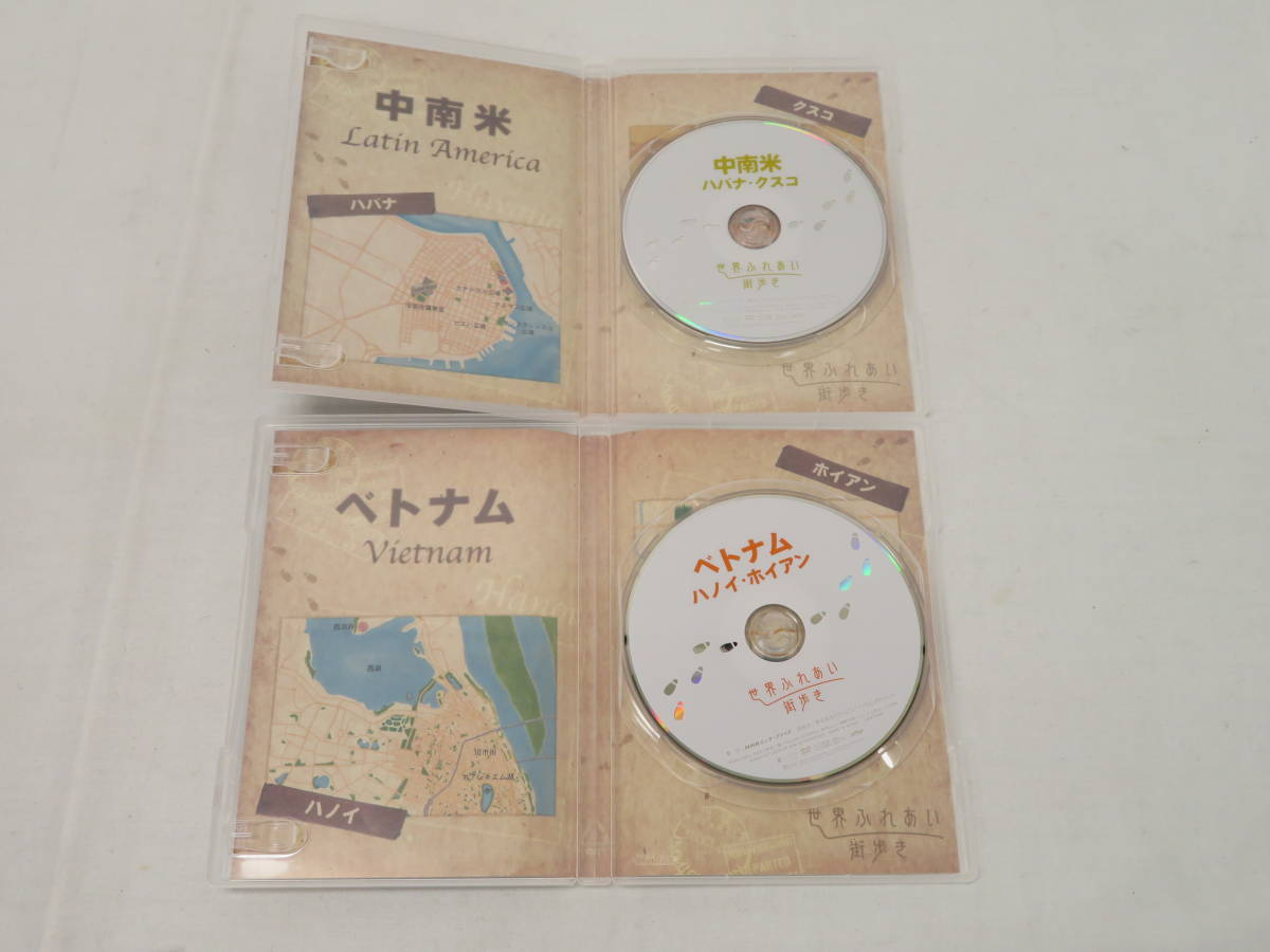 [K87]NHK DVD 世界ふれあい街歩き BOXⅠ 全5巻_画像5