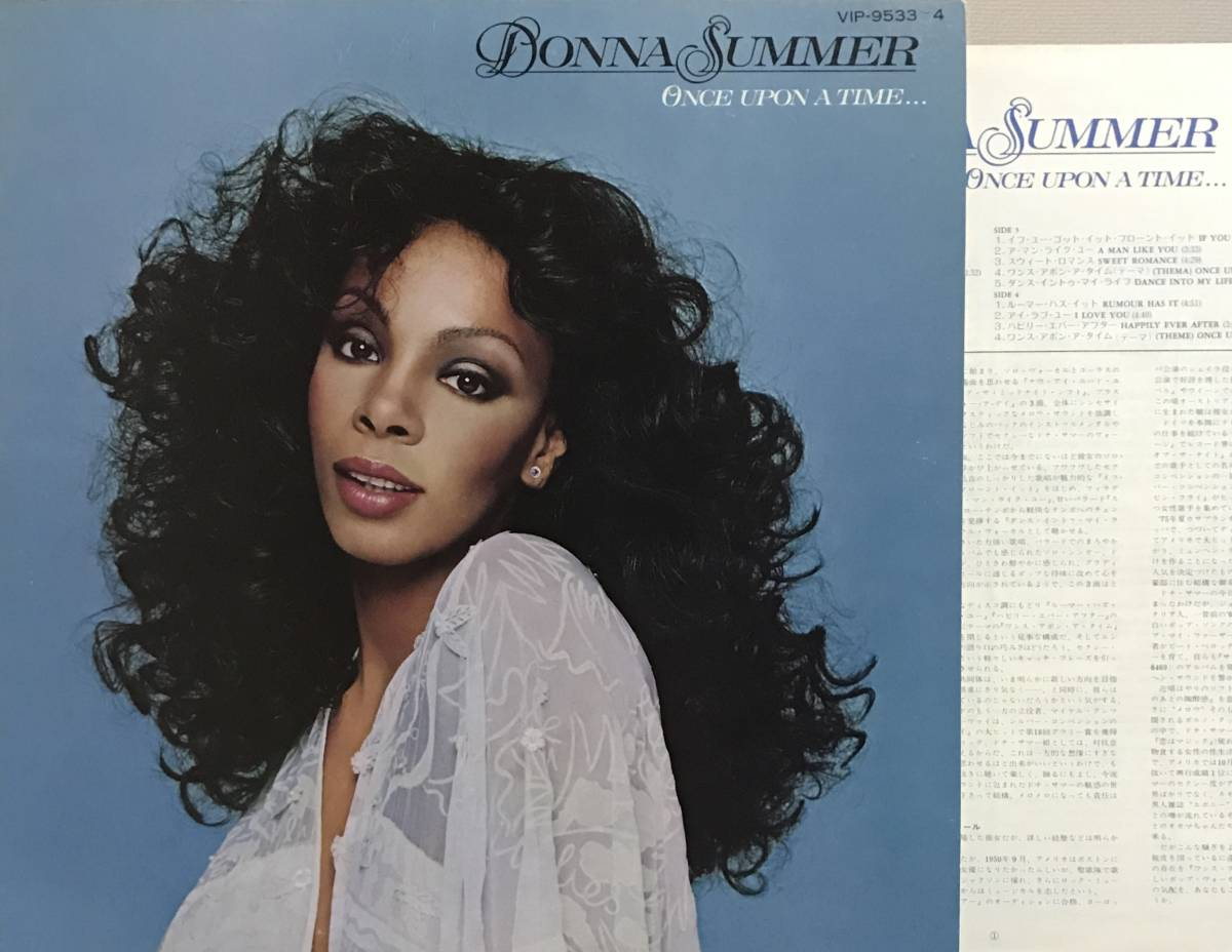 ②◆2LP/美品◆ DONNA SUMMER - ONCE UPON A TIME..._画像1