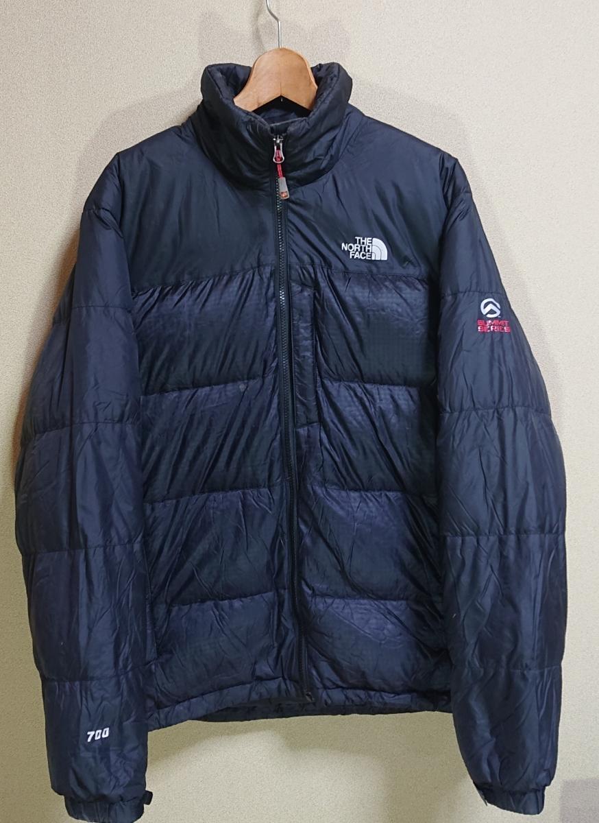 5484ef42e North Face summit series 700 Phil down jacket men's L size black 673 ...