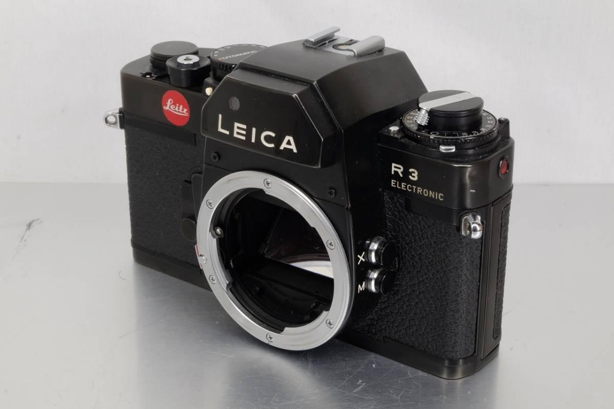 Leica ライカ マニュアル 一眼レフ R3 ボディー 中古 現状品 ( ミノルタ ズミクロン ズマール エルマリート アンギュロン