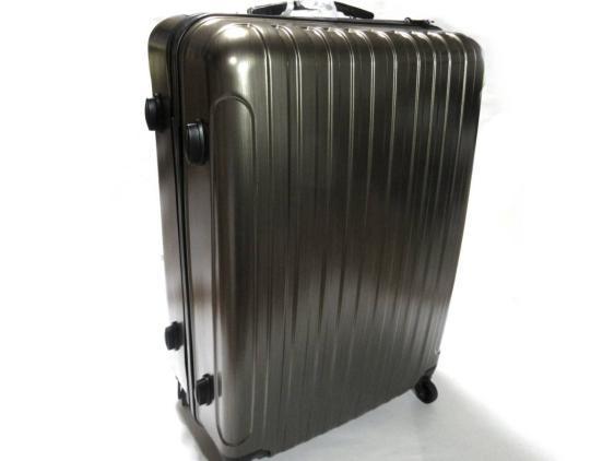 送料無料◆訳あり新品◆スーツケース 96L ブラウン 大型 軽量◆TSA ロック キャリーケース キャリーバッグ