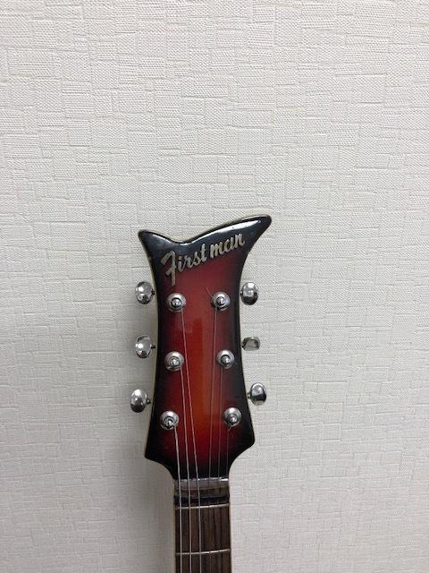 貴重 ジャパンヴィンテージ ビザールギター FIRSTMAN (ファーストマン)_画像2