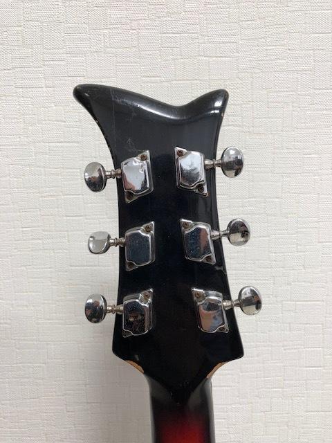 貴重 ジャパンヴィンテージ ビザールギター FIRSTMAN (ファーストマン)_画像6