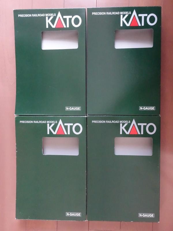 【車両ケース】KATO車両ケースのスリーブ 4個 ■ 管理番号HK1901309900200AY_画像1