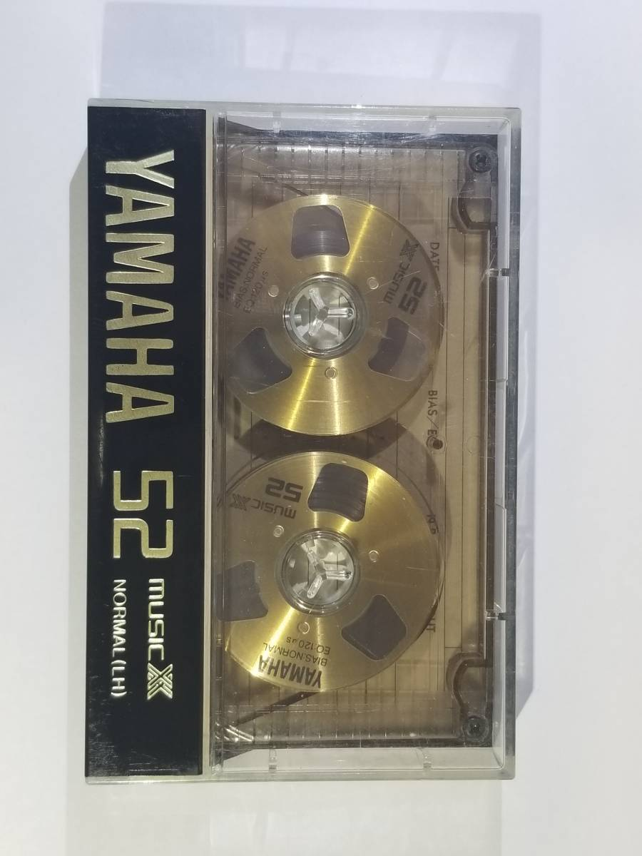 中古カセットテープ YAMAHA 52musicXX