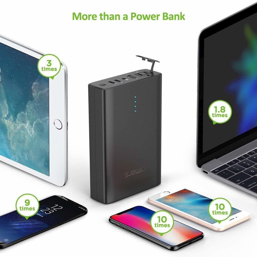 Omars ポータブル電源 AC出力対応 モバイルバッテリー 146Wh 40200mAh 新品_画像2