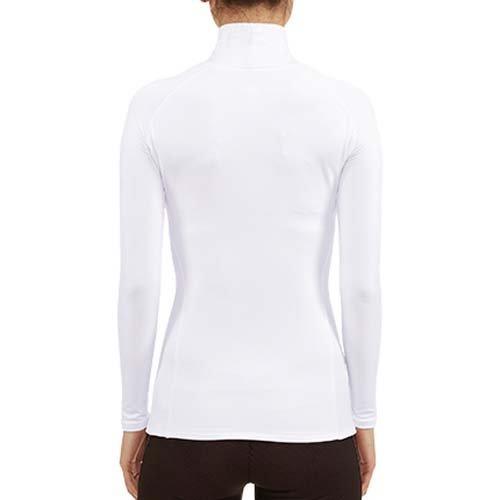 新品 アンダーアーマー コールドギア UA Tシャツ コンプレッションLS レディース UVカット WGF7705 WHT MD 76_画像2
