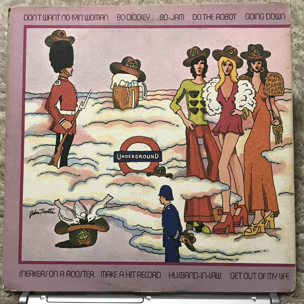 ★STERLING刻印★Bo Diddley The London Bo Diddley Sessions /1973 US Original_画像2