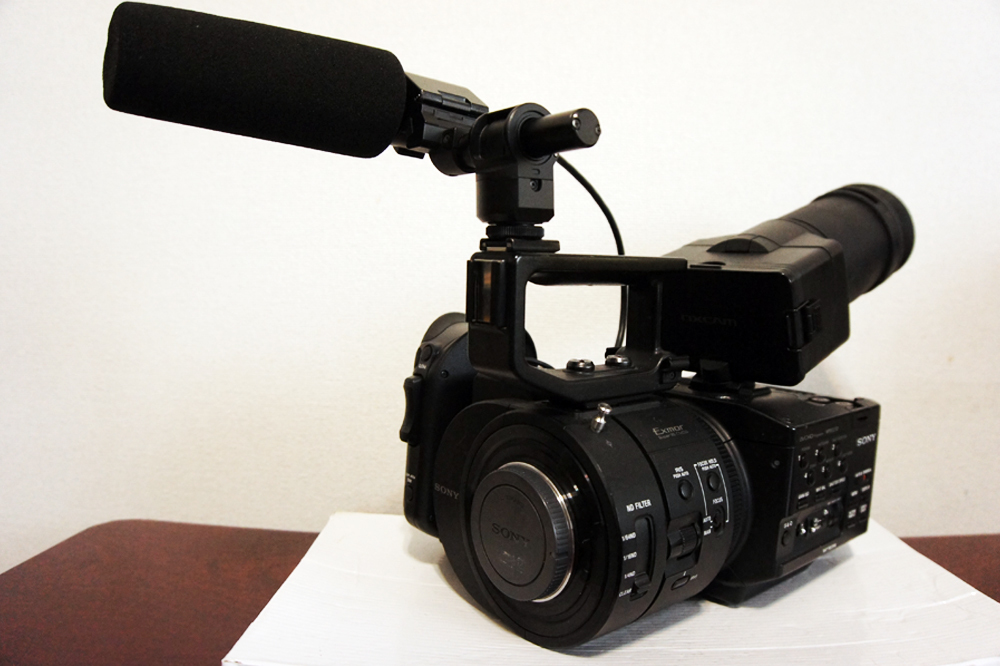 1円~SONY【 NEX-FS700J 】業務用 シネカメラ 大判センサー 動作確認済み 最低落札価格なし