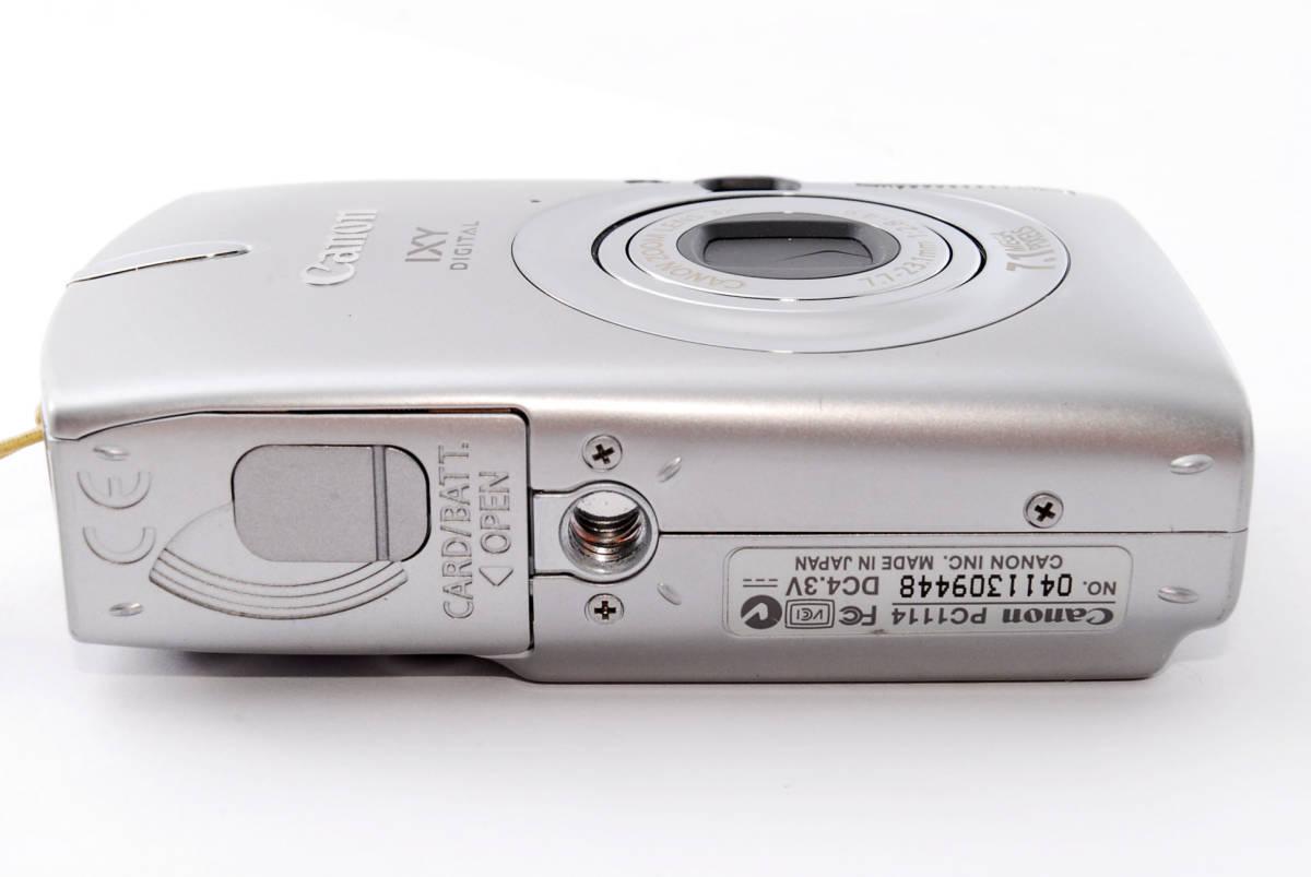 ★即決★価格交渉あり★キャノン canon ixy digital 600 デジタルカメラ<化粧箱、付属品>#1275_画像9