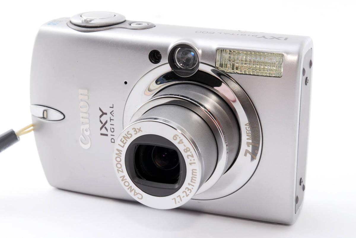 ★即決★価格交渉あり★キャノン canon ixy digital 600 デジタルカメラ<化粧箱、付属品>#1275_画像2