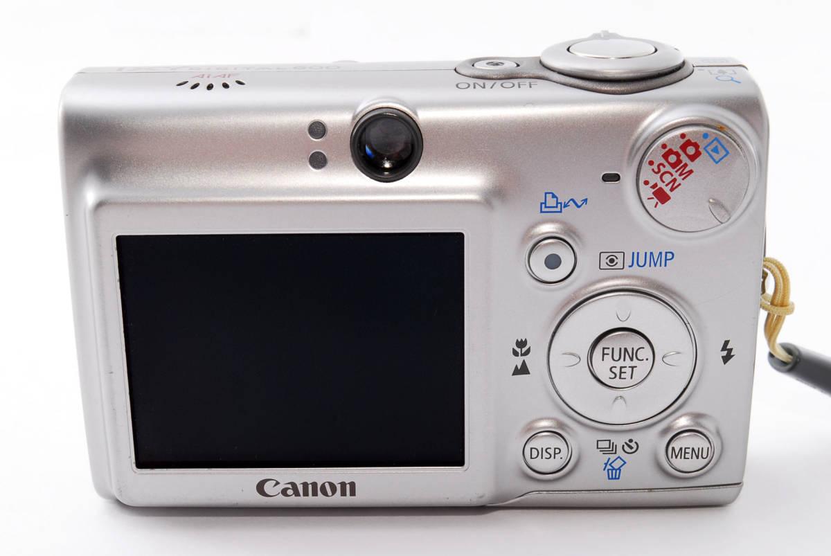 ★即決★価格交渉あり★キャノン canon ixy digital 600 デジタルカメラ<化粧箱、付属品>#1275_画像6