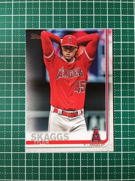2019 Topps Baseball #340 Tyler Skaggs Los Angeles Angels