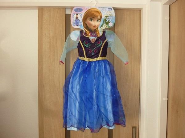 ディズニー アナと雪の女王 おしゃれドレス アナ 100~110サイズ