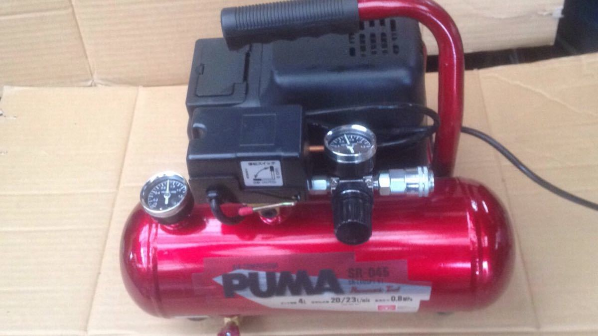 PUMA SR-046 air compressor_画像2