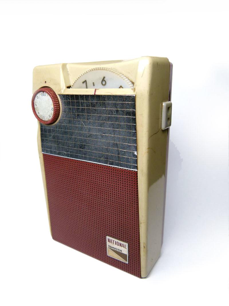 NATIONAL ナショナル ポータブルラジオ EB-145 トランジスタ ジャンク扱い