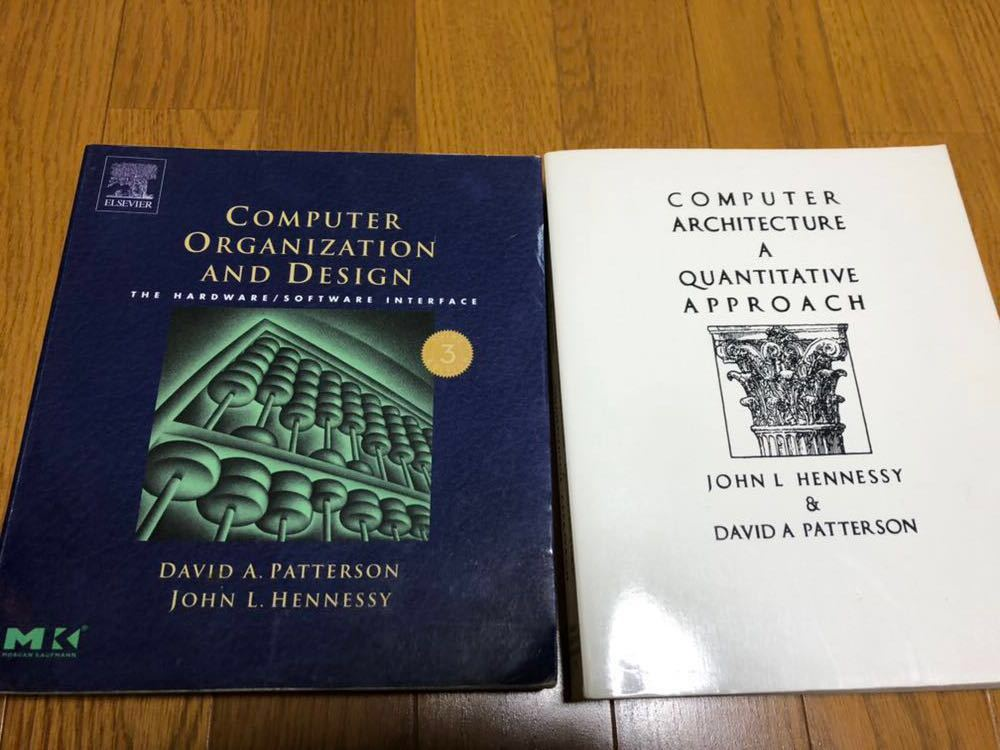 Computer Organization and Design & Computer Architecture パターソン ヘネシー洋書2点セット_画像1