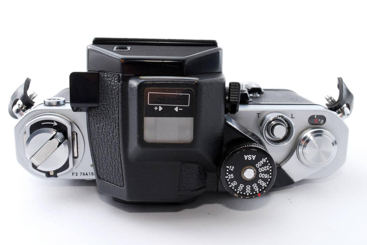 ☆動作絶好調☆ Nikon F2 フォトミック S ニコン Photomic S フィルム 一眼レフ カメラ_画像7