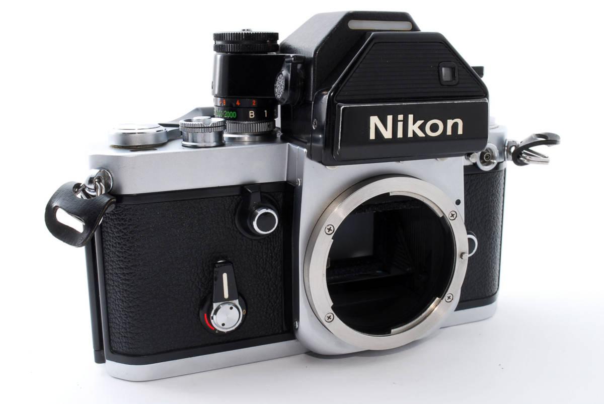 ☆動作絶好調☆ Nikon F2 フォトミック S ニコン Photomic S フィルム 一眼レフ カメラ_画像4