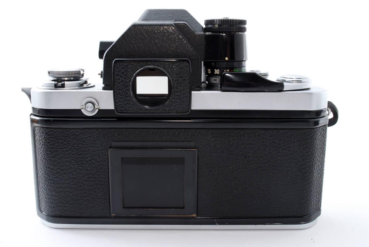 ☆動作絶好調☆ Nikon F2 フォトミック S ニコン Photomic S フィルム 一眼レフ カメラ_画像6