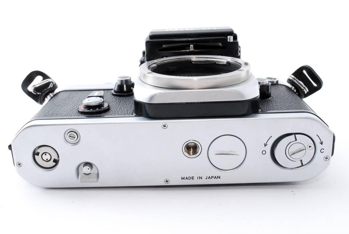 ☆動作絶好調☆ Nikon F2 フォトミック S ニコン Photomic S フィルム 一眼レフ カメラ_画像8