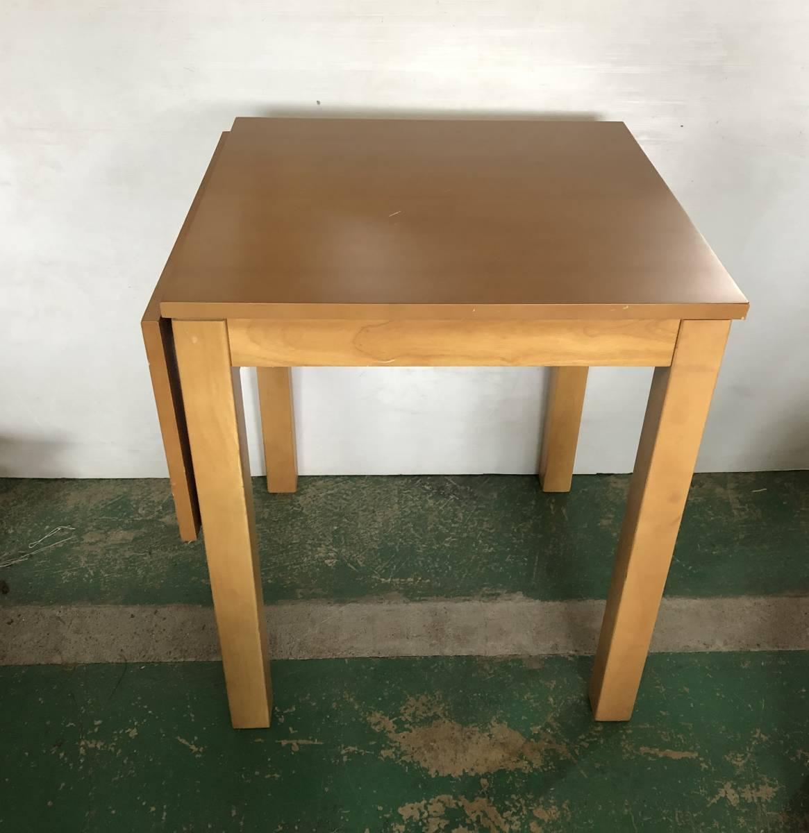■家具の大丸 折りたたみ ダイニングテーブル ■イ15_画像2