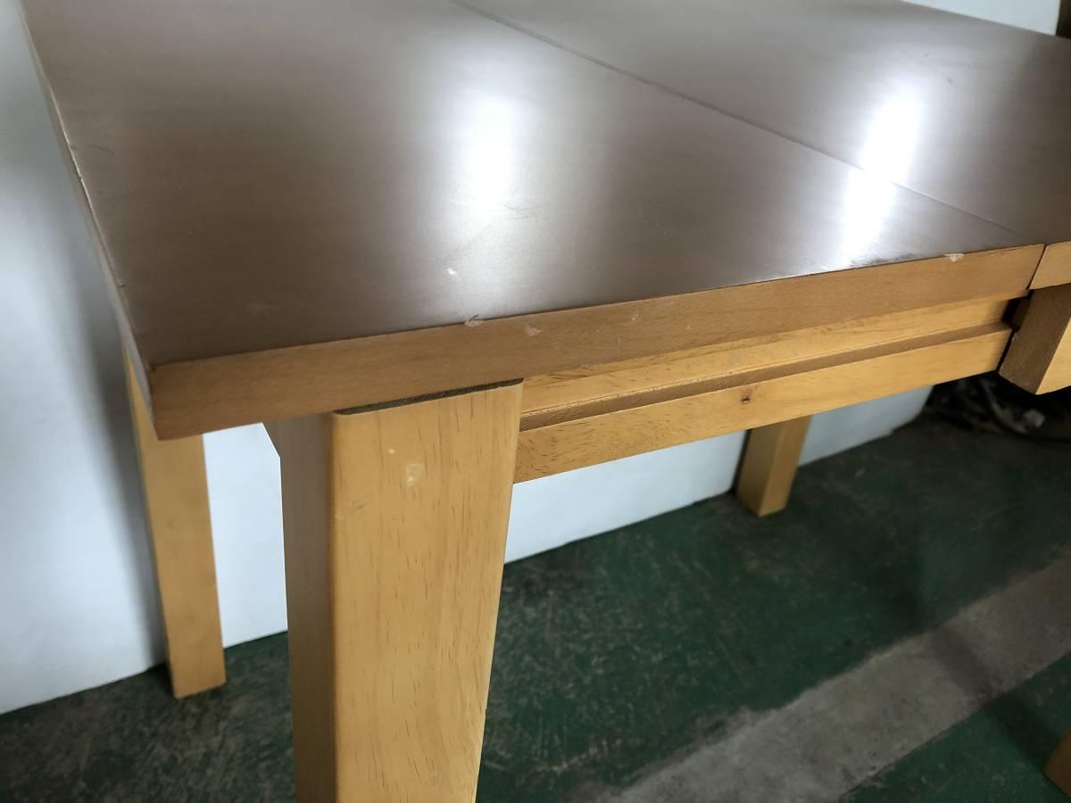 ■家具の大丸 折りたたみ ダイニングテーブル ■イ15_画像7