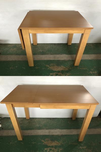 ■家具の大丸 折りたたみ ダイニングテーブル ■イ15