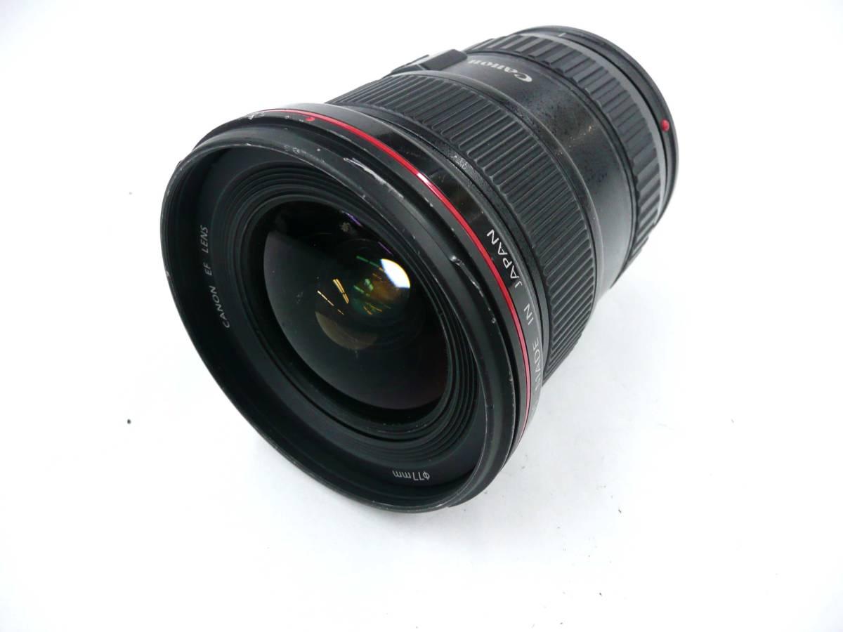 【ジャンク レンズ】 キヤノン EF 16-35mm 2.8 L USM Canon (J362M)