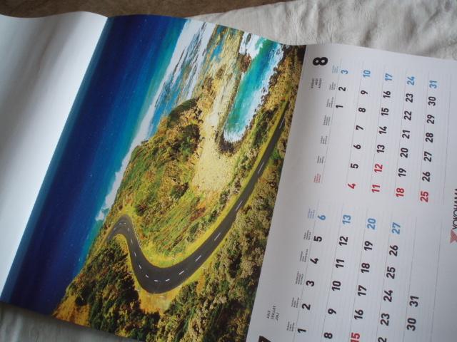 2019年カレンダー Fantastic Roads Around the World ヨコハマタイヤジャパン_画像5