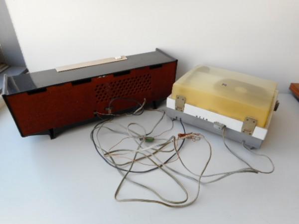 真空管ラジオ ナショナルGM520 ターンテーブルナショナル7L-857 ジャンク_画像4