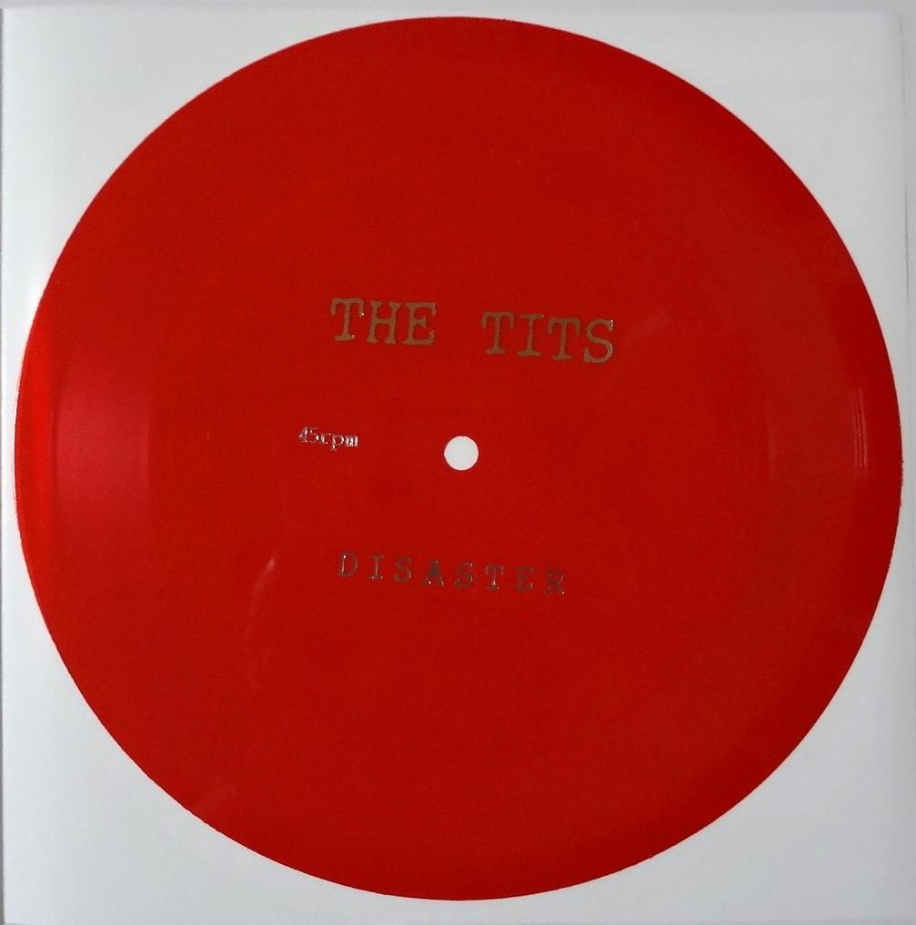 """The Tits Disaster Flexi ソノシートEP 7"""" Single レコード Pogo 77 Records Pogo98 ライブ会場 限定盤 Noisecore/Skitklass_画像3"""