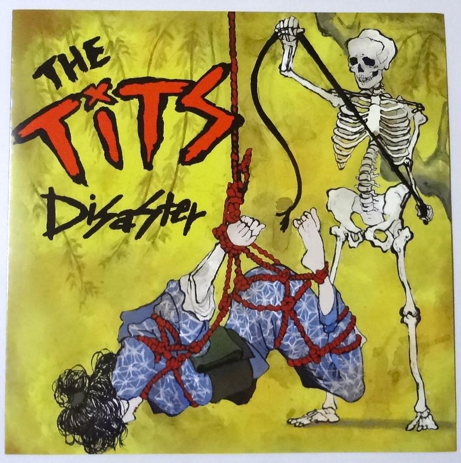 """The Tits Disaster Flexi ソノシートEP 7"""" Single レコード Pogo 77 Records Pogo98 ライブ会場 限定盤 Noisecore/Skitklass_画像1"""