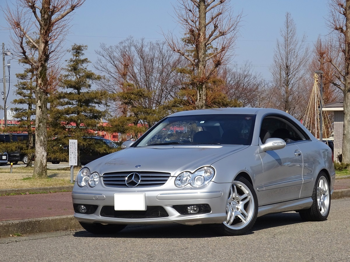 Amg Specification Luxury Coupe W209 Benz Clk240 Mileage