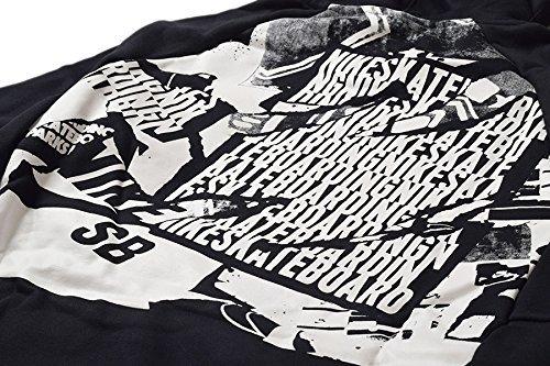 新品タグ付き 訳あり S/M 黒 ナイキ NIKE SB プルオーバーフーディ&フリース パンツ ジョガー スウェット 裏起毛 上下セット_画像3