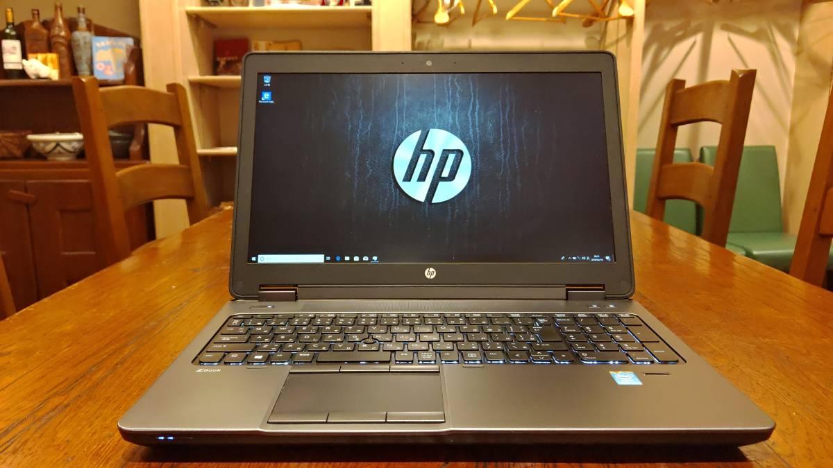 ワークステーション 高速SSD HP ZBook 15 Core i7-4800MQ 16G SSD480GB+HDD1TB Quadro K2100M FHD office2016