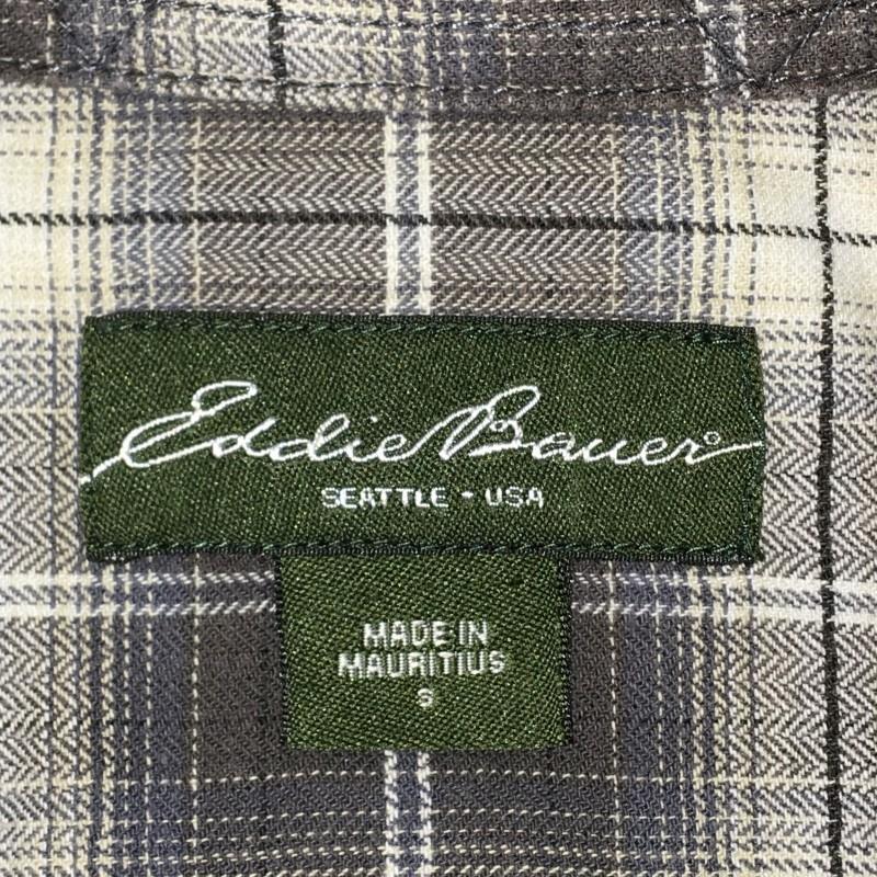 《郵送無料》Ijinko エディーバウアー ◆ Eddie Bauer ◆S サイズ長袖フランネル