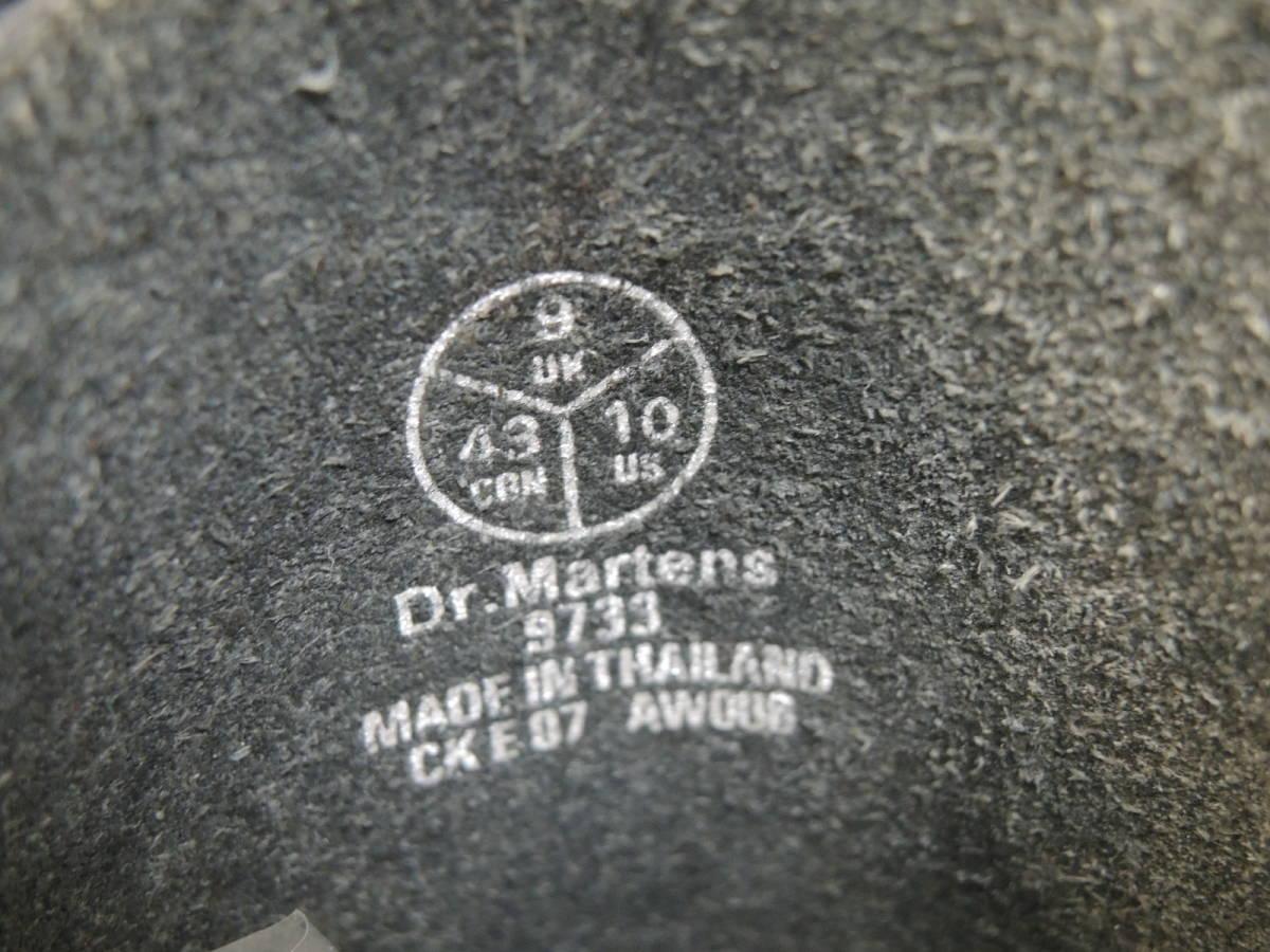 Dr.Martens ドクターマーチン 14ホール サイド ジップ zip ブーツ_画像10